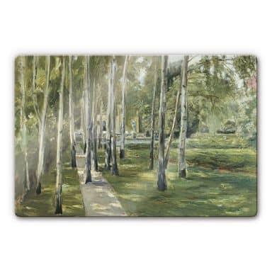 Liebermann - The Artist\'s Garden Glass art