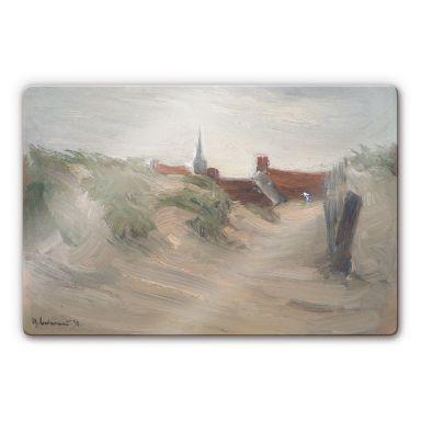 Liebermann - Dunes in Katwijk Glass art