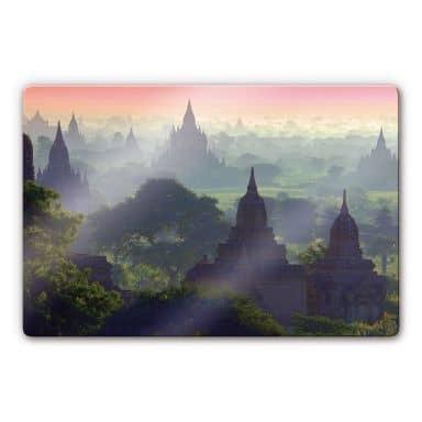 Glasbild Bagan