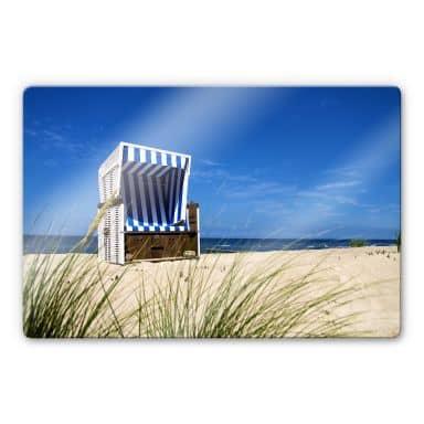 Beach Chair Glass art
