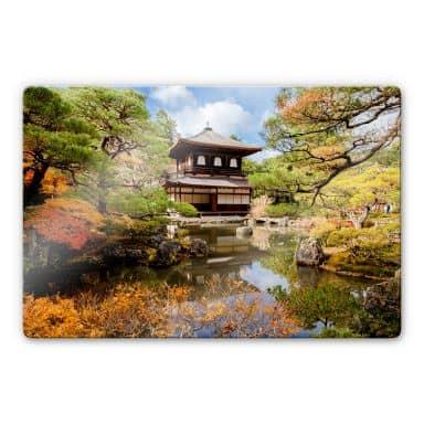 Japanese Temple 2 Glass art