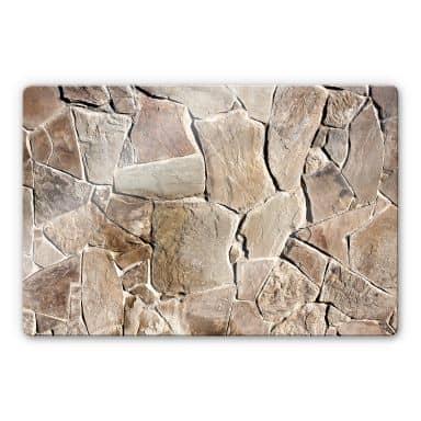Mediterranean Wall Glass art