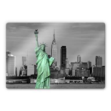 Glasschilderijen Vrijheidsbeeld NY