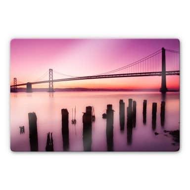 Glasbild San Francisco Bay