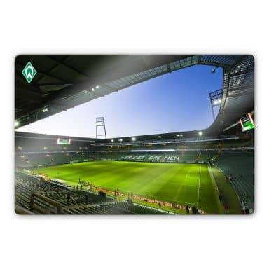 Glasbild Werder Bremen Weserstadion Innen