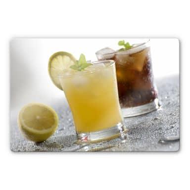 Glasbild Cocktail Time 2