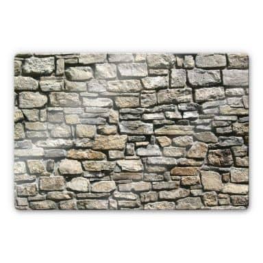 Natural stone Glass art