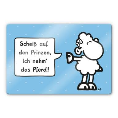 Glasbild sheepworld Worthelden Prinz
