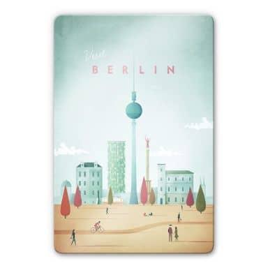 Glasbild Rivers - Berlin