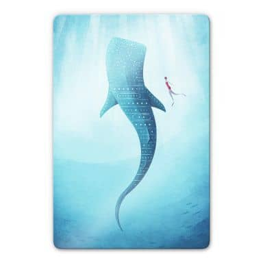 Glass Picture Rivers - The whale shark