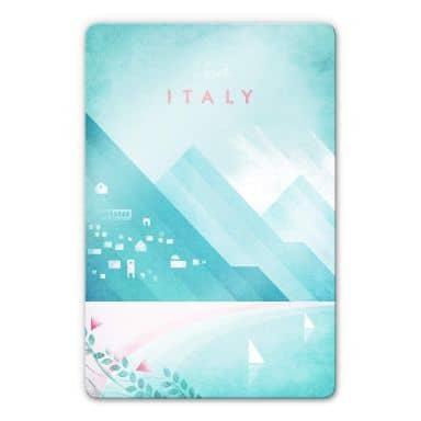 Glasbild Rivers - Italien