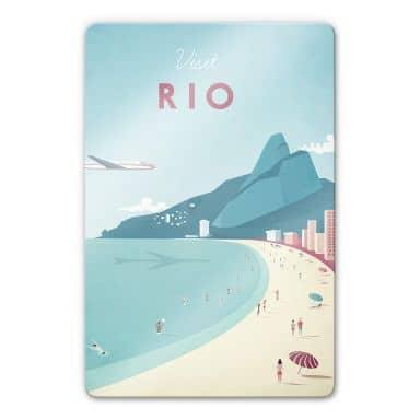 Glasbild Rivers - Rio de Janeiro