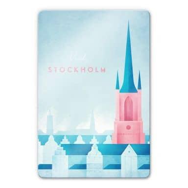 Glasbild Rivers - Stockholm