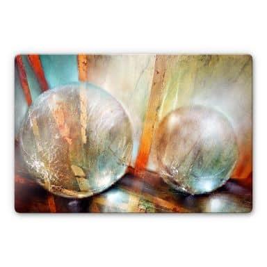 Glasbild Schmucker - Lichtfänger