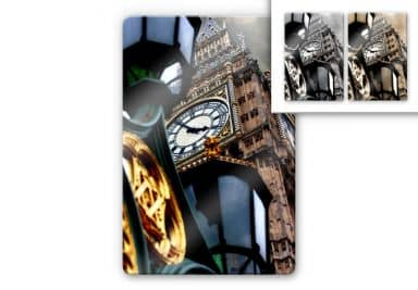 Glasbild The Big Ben