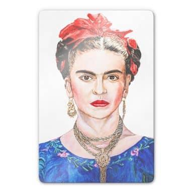 Glasbild Toetzke - Frida Kahlo