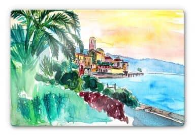 Glasbild Bleichner - Wonderful Lago Maggiore