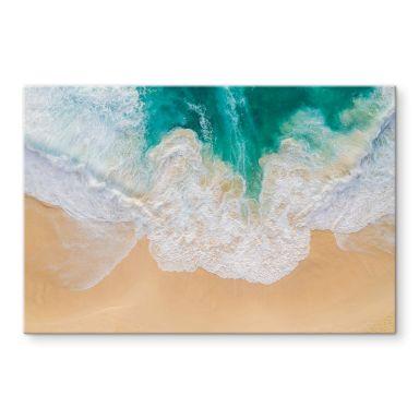 Glasbild Colombo - Meeresrauschen