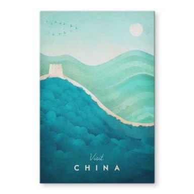 Tableau sur verre Rivers - Chine