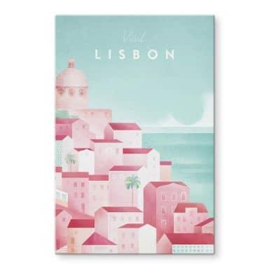 Tableau sur verre Rivers - Lisbonne