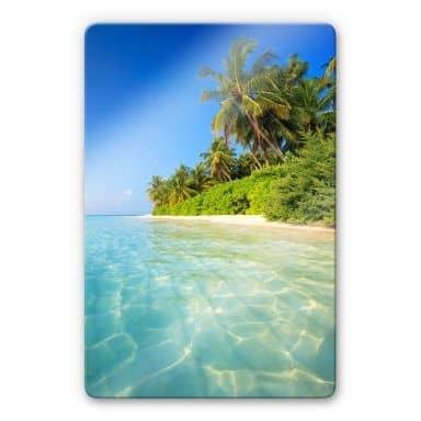 Glass Print Colombo - the Maldives