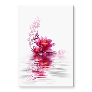 Blossom Magic Glass art