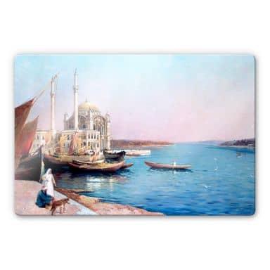 Glasbild Dellepiane - An den Ufern des Bosporus