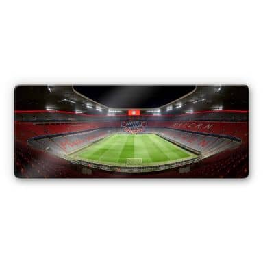 Glass Print FCB Stadium by Night