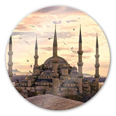 Moschea blu - tondo