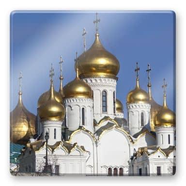 Glasbild Mariä - Verkündigungs - Kathedrale - quadratisch