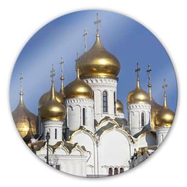 Glasbild Mariä - Verkündigungs  - Kathedrale - rund