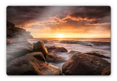 Glasbild Galbraith - Cape Solander