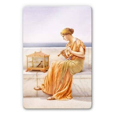 Glasbild Godward - A song without words