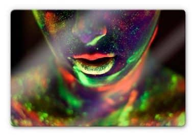 Glasbild Kokdemir - In Farbe getaucht