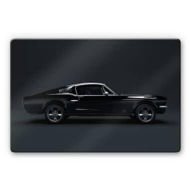 Glasbild - Muscle Car