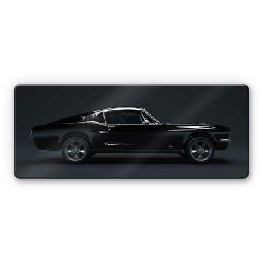 Glasbild - Muscle Car - Panorama