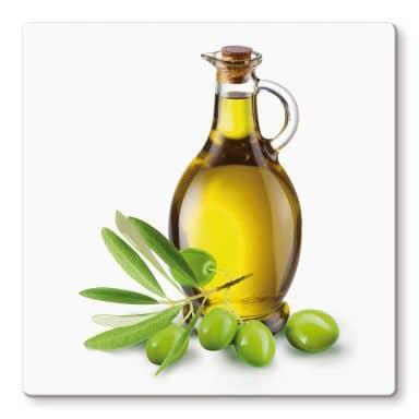 Olive Oil Glass art