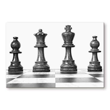 Chess Symmetry Glass art