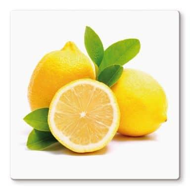 Lemons Glass art