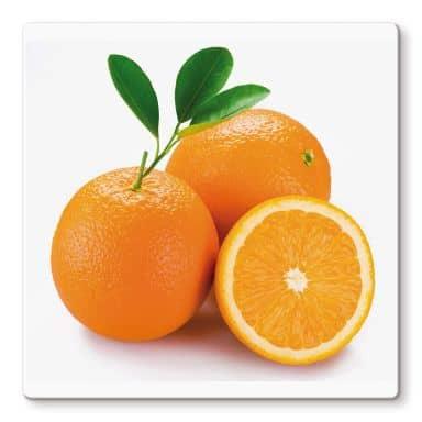Glasbild Oranges