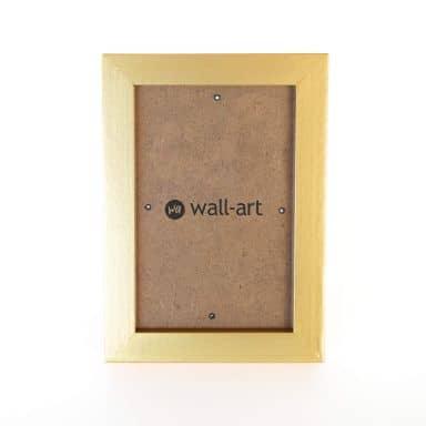 Cornice in legno oro - 10x15 cm