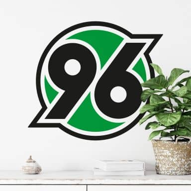Wandtattoo Hannover 96 Logo