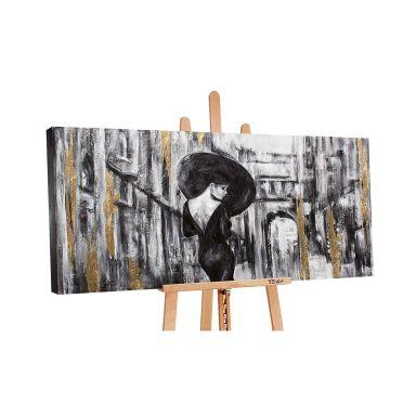 Dipinto acrilico - Donna 140x70 cm