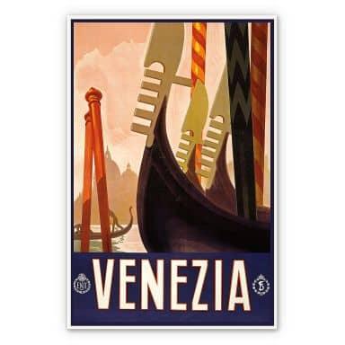 Wandbild Vintage Travel - Venezia