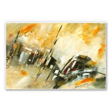 Wandbild Niksic - Summer in the City