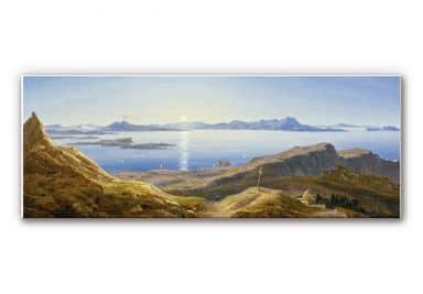 Wandbild Ahlborn - Küstenlandschaft am Golf von Neapel