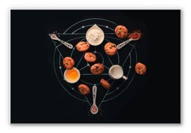 Wandbild Belenko - Baking Alchemy 01
