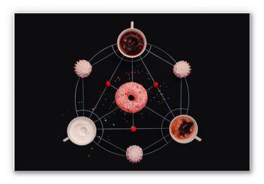 Wandbild Belenko - Baking Alchemy 02