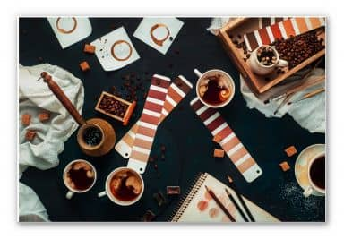 Wandbild Belenko - Shades of Coffee