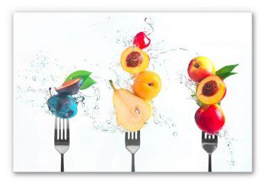 Wandbild Belenko - Splashing Fruits